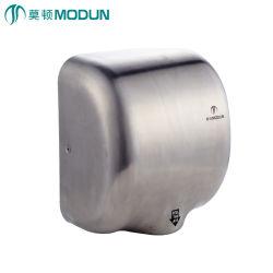 Sanitariosprofesional de acero inoxidable de electrodomésticos 304 automático del sensor de infrarrojos Ventilador eléctrico eficiente Jet Secador de manos