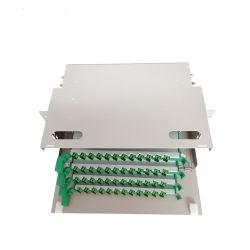 FTTH Outdoor 19 Zoll LWL ODF Equipment Rack Wall Montage Des Klemmenkastenschranks Für Schalttafel