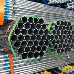 Tuyau en acier au carbone 32 mm restes explosifs des guerres pré tuyau rond en acier galvanisé GI