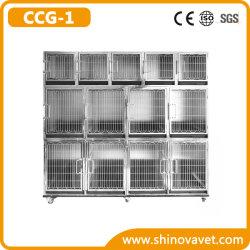 Cage de PET modulaire professionnelle Chenil chien Cage (GCC-1)