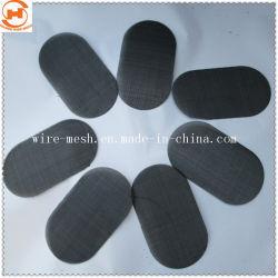 Acciaio inox/panno per filtro nero