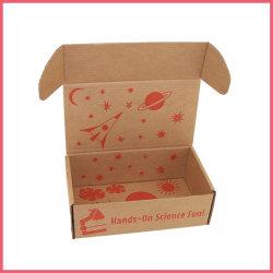 Kundenspezifische Firmenzeichen-faltbare doppelseitiges Drucken-Kaffee-Tee-kosmetische Kleidungs-verpackenwerbung runzeln Karton-Geschenk-Verschiffen-Papierkasten