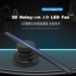 Meilleur joueur de vente d'objets de la publicité 3D'hologramme de Ventilateur Affichage LED 50cm