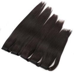 Cheveux humains brésilien de gros de queue de cheval clip dans l'extension de cheveux humains