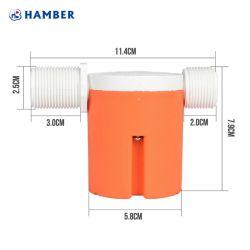 Novíssimo Hot-Selling mecânica a China apresentou Hbn20 3/4 polegada do tanque de água da Válvula de Esfera de Flutuação para a Válvula de Controle de Fluxo de Água