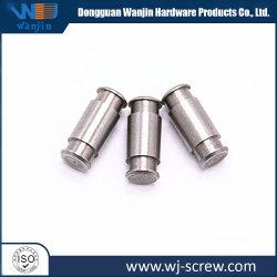 De aço inoxidável com precisão os componentes de alumínio de dissimular e Latão precisão de usinagem CNC peças de desenho
