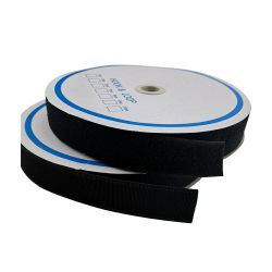 20mm 25mm en nylon polyester Ruban de magie noire avec crochet et boucle pour les bagages de rouleau/Fenêtre/Hat