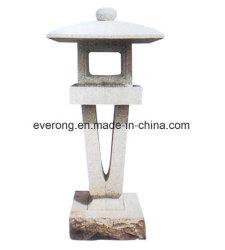 Große japanische Art-Garten-Antike-Granit-Stein-Laternen