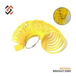 Schmucksache-Armband Sizer messende abmessende Hilfsmittel, die 1-23 Mkt083h Armband-Anzeigeinstrument sortieren