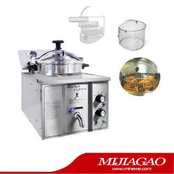 Кухонное оборудование коммерческих цыпленок глубокую фритюрницы давления/стола газовой плитой и картофель фри во фритюрнице машины
