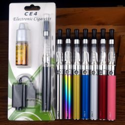 Zigaretten-Starter-Installationssatz EGO Ce4 des Vaporizer-1100mAh rauchendes der Feder-E