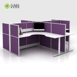 Zeitgenössischer Form-Schreibtisch-Ersatzteile der Büro-Möbel-X für modulare Möbel