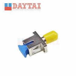 Hybrid Sm Simplex Sc Upc para St Upc Adaptador de Fibra Óptica