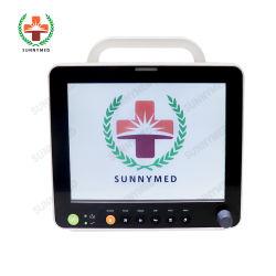 Sy-C005A LA CABECERA, sala de operación, ICU! Monitor de paciente de 12 pulgadas Multi-Parameter