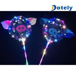Helium-blinkender Ballon LED leuchten Ballon Ballon-Bobo-LED