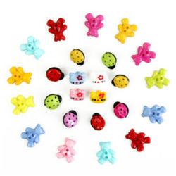 Высокое качество горячие продажи детского кнопку Cute пластиковую кнопку очень безопасно для детей