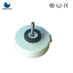 Plastique électrique DC condensateur 100V moteur en marche pour l'Air Purifiers/l'utilisation commecial