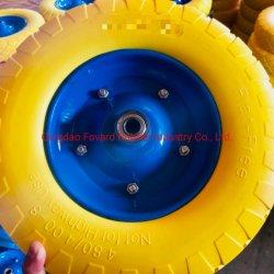 Rotella solida della carriola della gomma piuma dell'unità di elaborazione di alta qualità 4.00-8 utilizzata in carriola