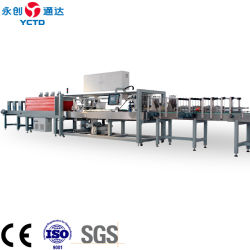 Machine d'emballage YCTD film rétractable pour la bière/boissons/ jus de fruits/l'eau minérale/produits laitiers/condiment