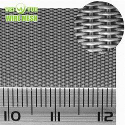 120X16 عالي الجودة من الفولاذ المقاوم للصدأ سلك شبكي فلاتر الحزام عكس ذلك شبكة سلكية هولندية لماكينة البلاستيك