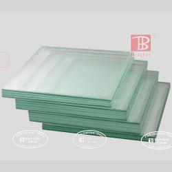 La partición de sistema de seguridad de doble capa de vidrio resistente al fuego