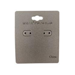 Papel especial cobertas de plástico preto brinco placa com logotipo de marca de lâmina