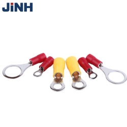 Изолированный Jinh кольцо шнур пальца конца медного кабеля с клеммой выступ