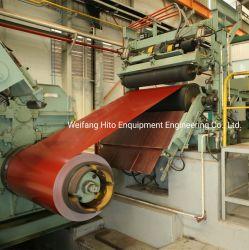 Acciaio, alluminio/alluminio, bobine rivestimento colore linea di rivestimento PPGI/PPGL rivestimento/verniciato/produzione