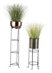 Planta de metal de Indoor/Outdoor, titular de las macetas con Pot