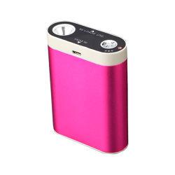 2020 6600mAh Cadeaux réchauffe-mains de poche USB chargeur mobile avec LED torche réchauffe-mains Rechargeable Mini Banque d'alimentation