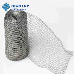 Désembueur de liquides de gaz en titane de bonneterie de Wire Mesh
