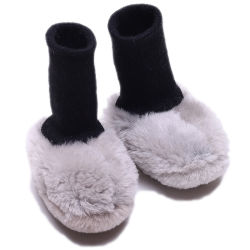أحذية الأطفال الجلدية الشتوية تعزز أحذية الأطفال الدافئة للأطفال حذاء أطفال