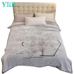 Полиэстер одеяло шелковистая Мягкая 2 Ply реверсивный дизайн флис