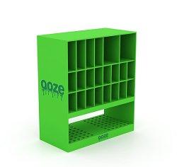 의료용 및 의약품을 위한 2계층 테이블 상판 아크릴 디스플레이 칸막이와 구멍
