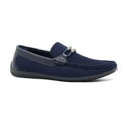 Best-Selling Shoelace PU de buena calidad de diseño del controlador de Perezoso Zapatos Zapatos de hombre