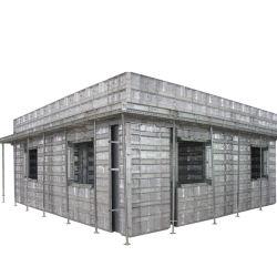 Construcción Formwork Aluminio Perfil 6063 T5 Material y Accesorios