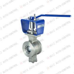 Tipo V /a extremidade do flange/pneumáticos/Electric/Segmento Manual da Válvula de Esfera