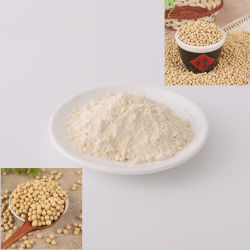 Großhandelsnahrungsmittelgrad-Qualitäts-Pflanzensojabohne-Protein-Auszug-Puder