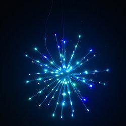 Espetáculo de luzes de decoração de cor RGB mudando Fading LED da função luzes de Natal com todas as cores