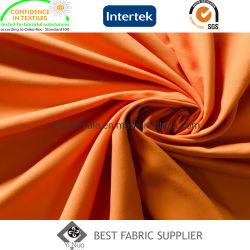 Micro tessuto 100% dell'indumento del tessuto della pelle della pesca del raso della fibra 140GSM del poliestere