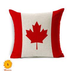도매 홈 장식 부드러운 편안한 시트 쿠션 베개 높은 품질 인쇄된 국가 국기 디자인 소파 쿠션