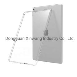 Estuche negro transparente para el iPad de Apple Pro 11 2018/20 PRO 12.9 2020 a prueba de golpes de silicona TPU Cubierta posterior