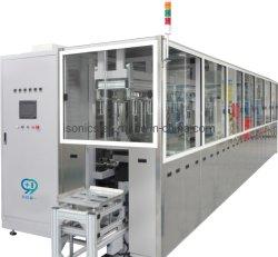 Cesta de la transferencia automática de equipos de limpieza por ultrasonidos con múltiples brazos mecánicos