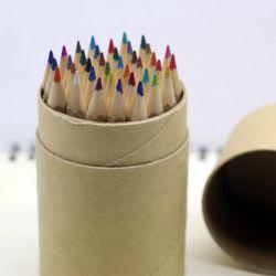 Cancelleria multicolore del contenitore di matita di memoria solubile in acqua di colore del libro macchina