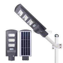 Lampada solare solare dell'indicatore luminoso di via di alta qualità LED 50W 100W 150W 200W con l'indicatore luminoso di via del Palo della lampada e del comitato LED