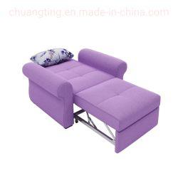 Mobiliário de Hotel Sofá-Cama Cum Quarto Studio Cadeira de carruagem de dobragem