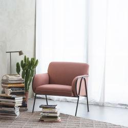 Дизайнер стильный ткань столовая мебель металлическая диван для отдыха место Председателя