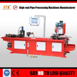 Automatischer CNC-Metallrohr-Ausschnitt-Maschinen-Rohrbündel-Scherblockkreissawing-Maschine