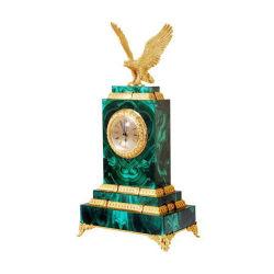 ヨーロッパスタイルのナチュラル大理石、豪華な宝石用ストーンマラカイトグリーンを工場価格でご用意 時計