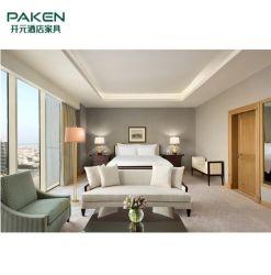 Mobilier moderne de luxe moderne fait sur commande d'étoile d'hôtel 5 pour l'ensemble de chambre à coucher